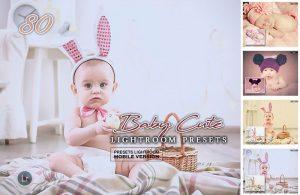 دانلود پریست لایت روم مخصوص تنظیم رنگ حرفه ای عکس نوزادان