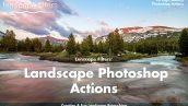دانلود اکشن فتوشاپ : Landscape Photoshop Actions
