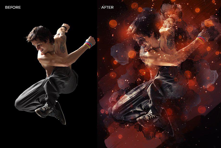دانلود اکشن فتوشاپ  Reverie Photoshop Action