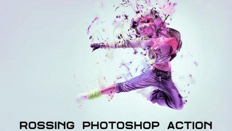 دانلود اکشن فتوشاپ : Rossing Photoshop Action