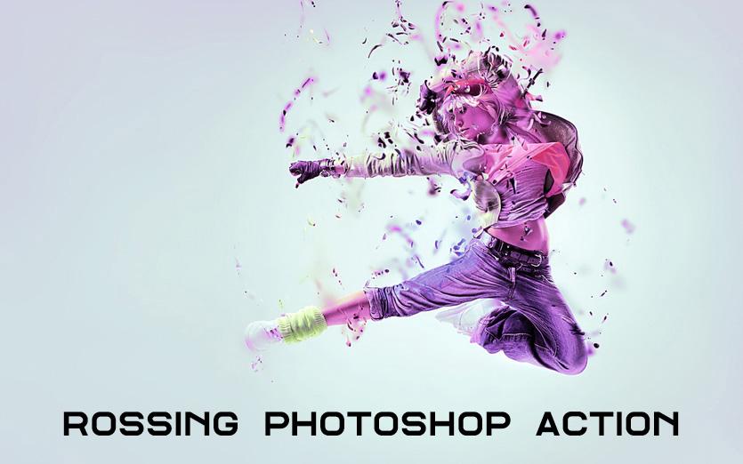 دانلود اکشن فتوشاپ Rossing Photoshop Action