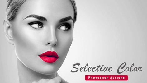 دانلود اکشن فتوشاپ Selective Color Photoshop Action