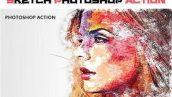 دانلود اکشن فتوشاپ Sketch PhotoShop Action