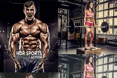 دانلود اکشن فتوشاپ Sport HDR Photoshop Action