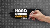 دانلود مجموعه حرفه ای المنت افترافکت : Hand Drawn Complete Pack