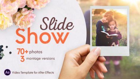 دانلود پروژه آماده افترافکت : اسلایدشو حرفه ای Slideshow Montage