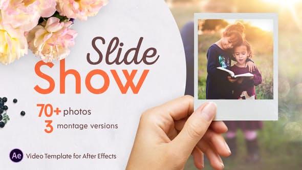دانلود پروژه آماده افترافکت اسلایدشو حرفه ای Slideshow Montage