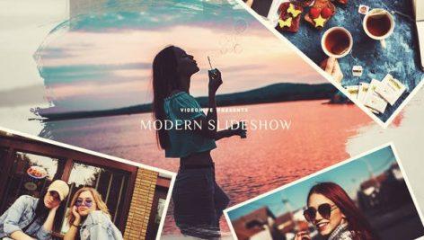 دانلود پروژه آماده افترافکت : اسلایدشو Modern Slideshow