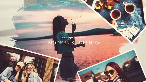 دانلود پروژه آماده افترافکت  اسلایدشو Modern Slideshow