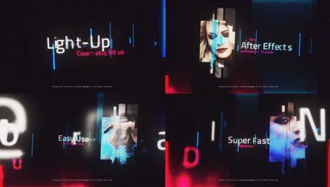 دانلود پروژه آماده افترافکت : تیتراژ حرفه ای LightUP – Cinematic Titles