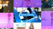 دانلود پروژه آماده افترافکت تیتراژ زیبای Stomp Opener