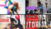 دانلود پروژه آماده افترافکت تیتراژ فوق حرفه ای Urban Glitch Intro