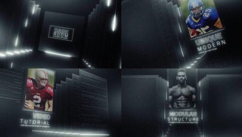 دانلود پروژه آماده افترافکت : تیتراژ Dark Room Sports Cinematic