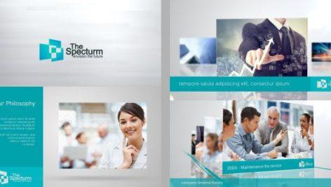 دانلود پروژه آماده افترافکت : معرفی شرکت Lines Corporate Pack