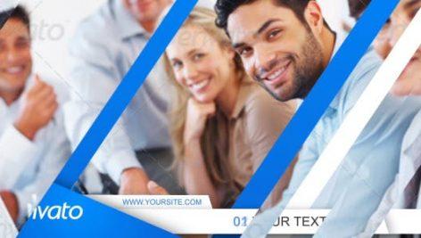 دانلود پروژه آماده افترافکت : معرفی شرکت Simple Corporate Presentation