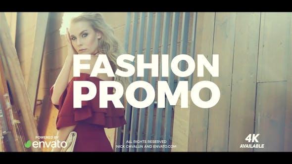 دانلود پروژه آماده افترافکت وله حرفه ای Fashion Promo