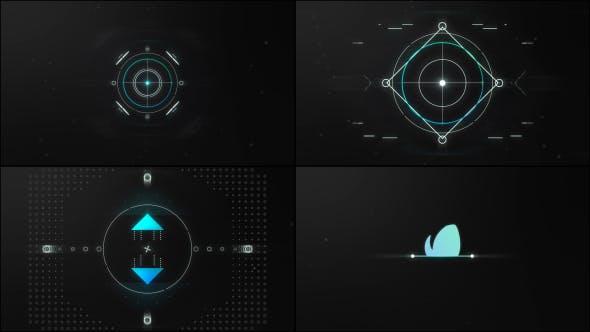 دانلود پروژه آماده افترافکت  وله لوگو Intense Logo Reveal