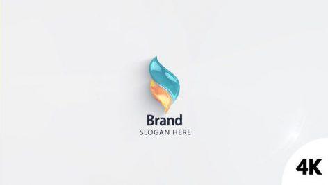 دانلود پروژه آماده افترافکت : وله لوگو Simple Elegant Logo