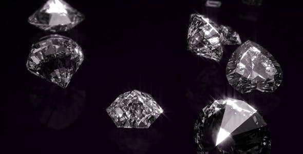 دانلود پروژه آماده افترافکت : وله وتیزر الماس Diamonds Opener