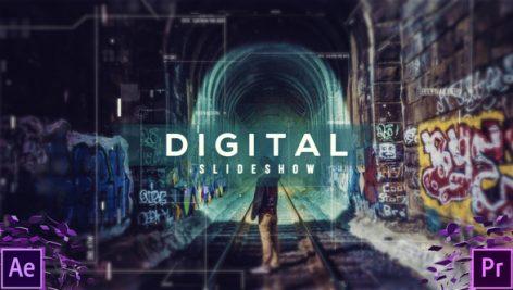 دانلود پروژه آماده پریمیر : اسلایدشو Digital Slideshow