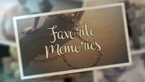 دانلود پروژه آماده پریمیر : اسلایدشو Favorite Memories
