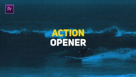 دانلود پروژه آماده پریمیر : تیتراژ Action Opener