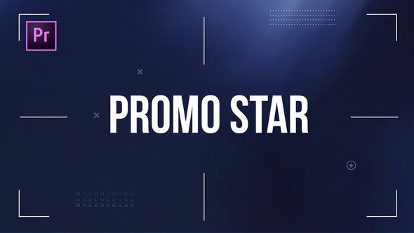 دانلود پروژه آماده پریمیر : تیتراژ Dynamic Promo Star