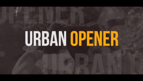 دانلود پروژه آماده پریمیر : تیتراژ  Dynamic Urban Opener