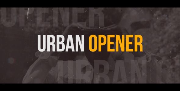 دانلود پروژه آماده پریمیر  تیتراژ  Dynamic Urban Opener