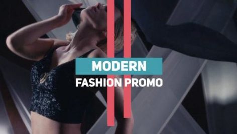 دانلود پروژه آماده پریمیر : تیتراژ  Modern Fashion Promo
