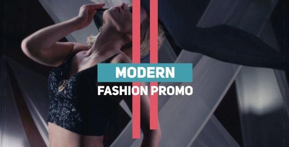دانلود پروژه آماده پریمیر  تیتراژ  Modern Fashion Promo