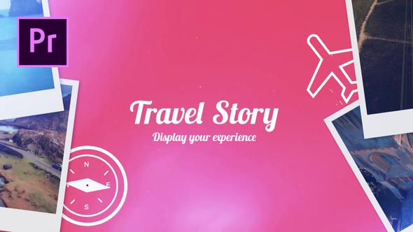 دانلود پروژه آماده پریمیر  معرفی شرکت مسافرتی Travel Story