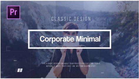دانلود پروژه آماده پریمیر : معرفی شرکت Corporate Minimal