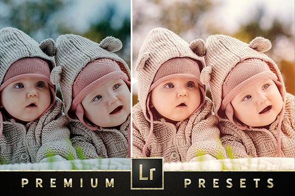 دانلود پریست لایت روم مخصوص نوزاد : Newborn Baby Lightroom Collection