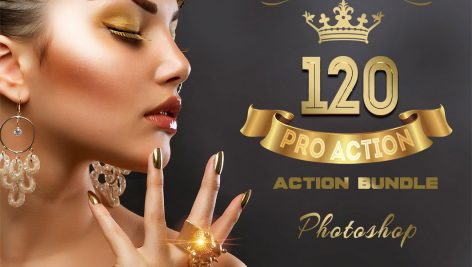 دانلود پکیج 120 اکشن حرفه ای فتوشاپ : Pro Photoshop Action Bundle