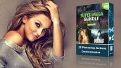 دانلود پکیج 22 اکشن فوق حرفه ای فتوشاپ Super Mega Bundle Photoshop Action