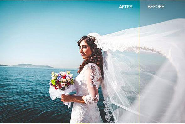 دانلود 17 پریست لایت روم حرفه ای عروسی Premium Wedding Lightroom Presets