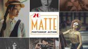 دانلود 20 اکشن فتوشاپ Matte Photoshop Action