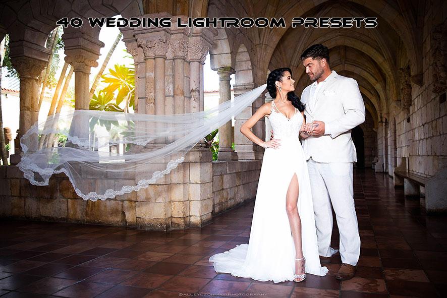 دانلود 40 پریست لایت روم مخصوص عروسی  Wedding Lightroom Presets