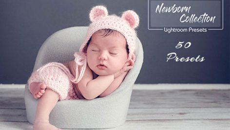 دانلود 50 پریست لایت روم مخصوص نوزاد Newborn Lightroom Presets