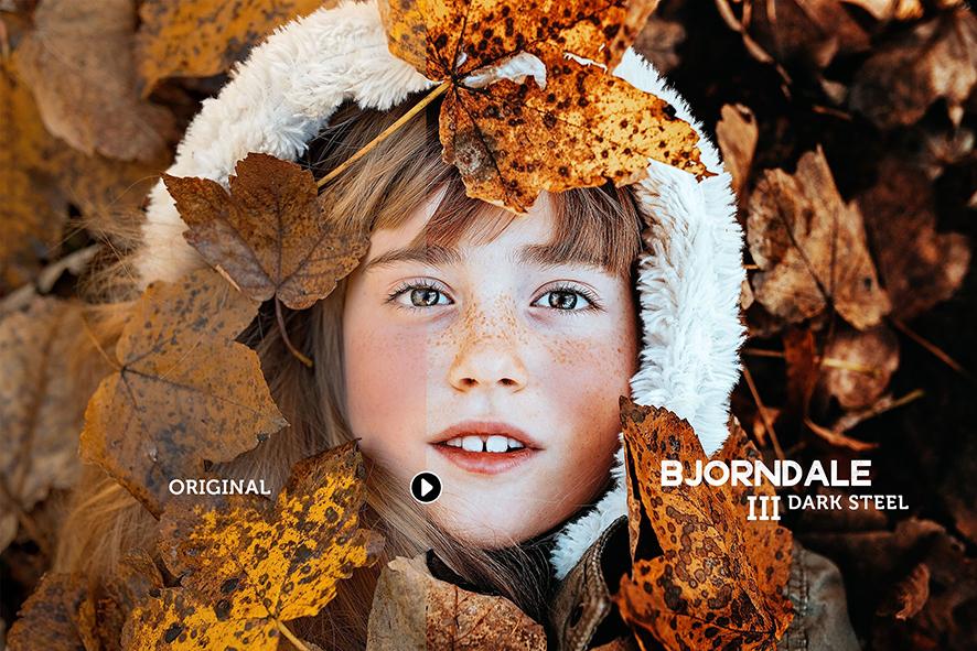 پریستهای لایت روم بنام Bjorndale Presets - Desktop & Mobile