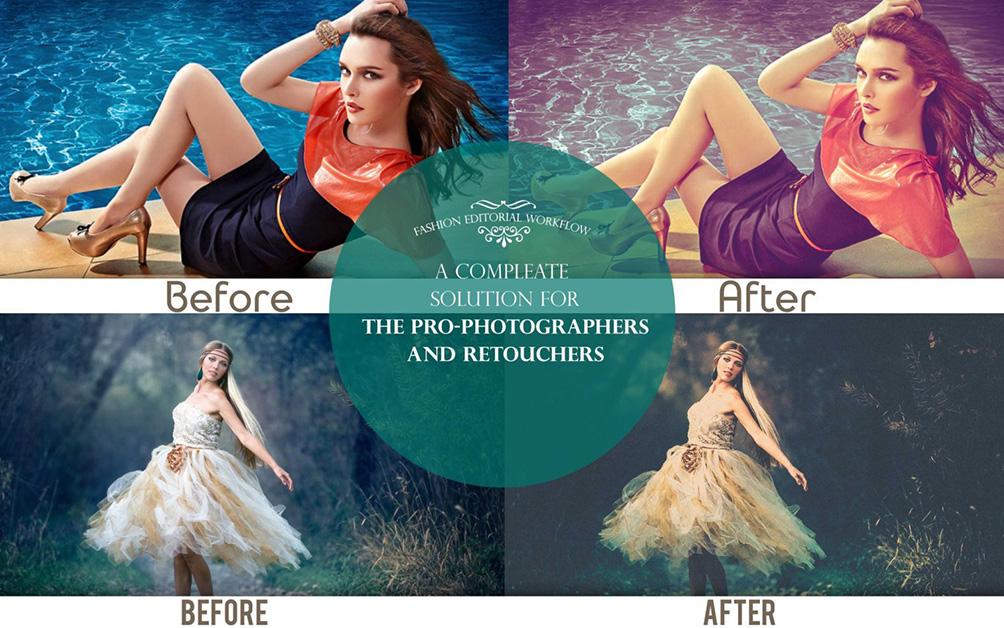 دانلود مجموعه پریست لایت روم بنام Fashion Editorial Premium Lightroom Preset