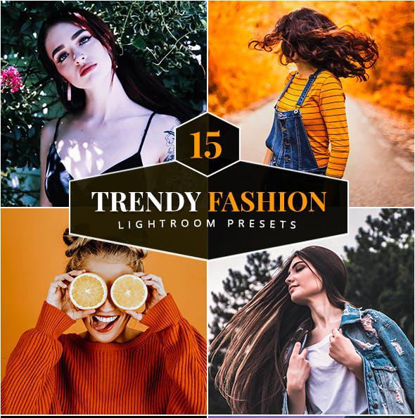 Trendy Fashion Lightroom Presets