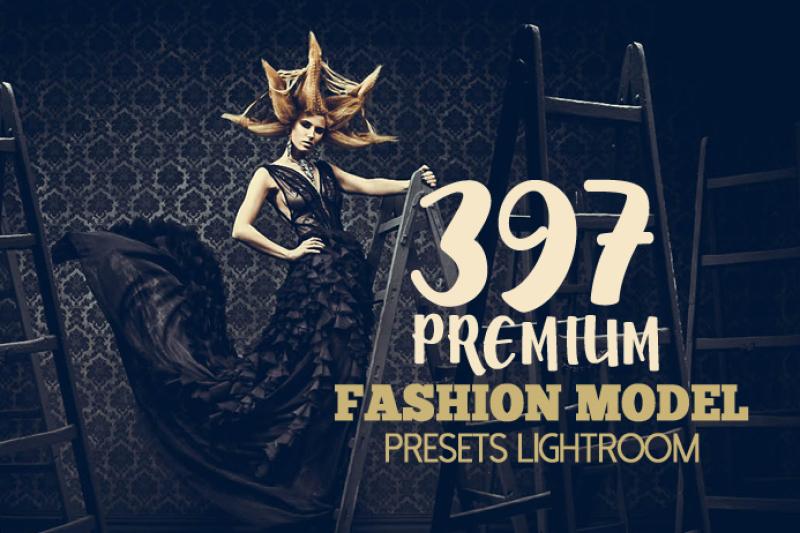 397 Premium Fashion Model Lightroom Presets