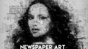 دانلود اکشن زیبای فتوشاپ : Amazing Newspaper Photoshop Action