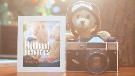 دانلود پروژه آماده افترافکت : آلبوم عکس کودک Childhood Memories Photo Album