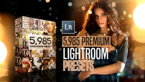 Mega bundle 5,900+ Premium Lightroom Presets