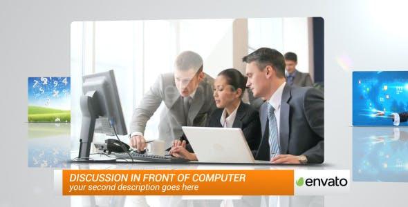 دانلود پروژه آماده افترافکت : معرفی شرکت New Corporate Presentation