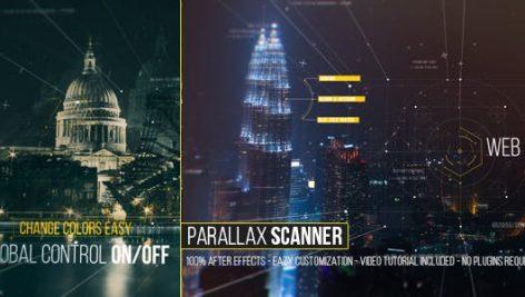 دانلود پروژه آماده افترافکت : اسلایدشو Parallax Scanner