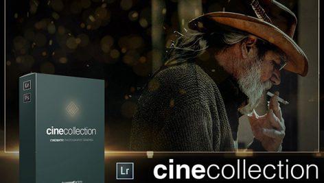 دانلود مجموعه پریست لایت روم بنام Cine Collection Lightroom Presets